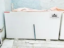 Polished Finish Pure White Makrana Marble, Thickness: 15-20 mm