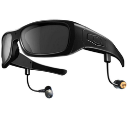 194d659bc1470 Video Camera Glasses And Music With 3D Bluetooth Wireless For iOS Andriod