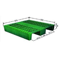 Heavy Duty Ceramic Plastic Pallet