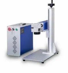 Fiber Laser Name Plate Marking Machine