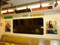Inside Delhi Metro Advertising
