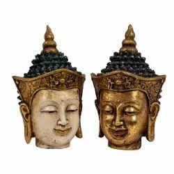 FRP Buddha Face 6 inch