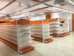 Supermarket Center Rack
