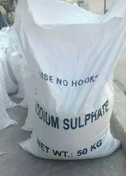 Powder Sodium Sulphate, Grade Standard: Technical Grade, Packaging Size: 50 Kgs