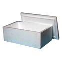 White Thermocol Packaging Box