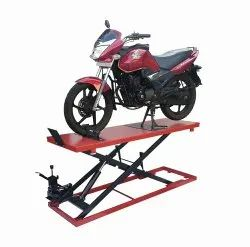Hydraulic 2 Wheeler Ramp, Lifting Capacity: 1500kg, Model Name/Number: ASM-R