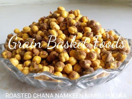 Roasted Chana Namkeen Nimbu Pudina, Packaging Type: Laminated Hdpe Woven Sack