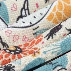 Synthetic Knitted Fabric Printing Services