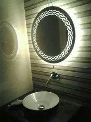 LED Mirror Washbasin