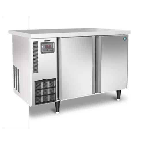 Stainless Steel Double Door Under Counter Freezer