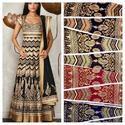 Aaliya Silk Kali Print Fabric
