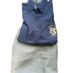 Cotton and also available in Polyester School Uniform