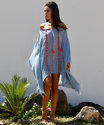 Short Beachwear Kaftan