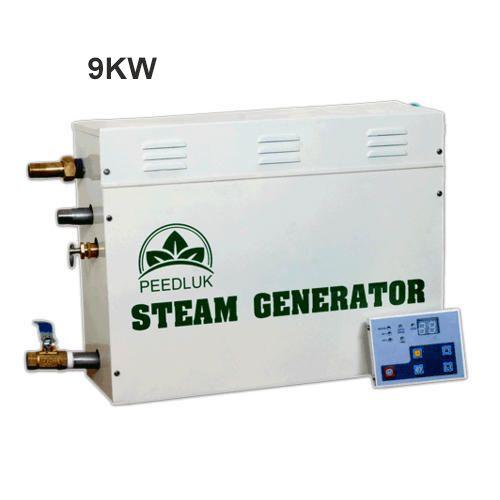 Peedluk 9 KW Steam Bath Generator For Hotel And Professional