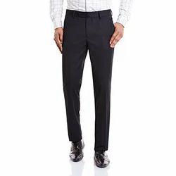 Large Black Mens Formal Pant