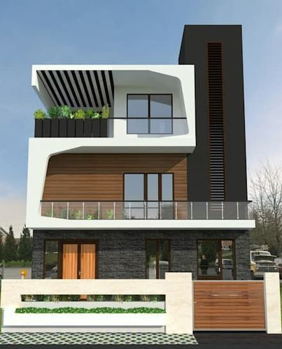 Residential Elevation Design And Modification In Noida Arch Planest