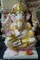 Marble ganesh  statue big size