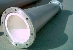 Cast Basalt Lined Lateral Pipe