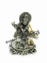 Silver Plated Cow Krishna