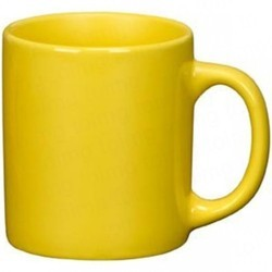 Yellow Ceramic Sublimation Colour Mug, Packaging Type: Carton, Size: 11 Ounce