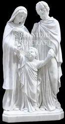 White Marble Jesus Statue