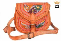 Embroidery Saddle Bag