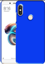 Black And Blue Khuent Back Cover for Redmi Note 5 Pro