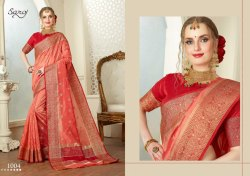 Elegant Fancy Cotton Silk Zari Saree
