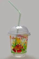 Plastic Transparent 250ml Thanda Thanda PP Glass