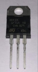 Darlington Transistors BDX33C ST MICROELECTRONIC