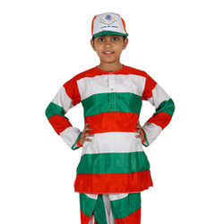 Kids Tri Color Dress