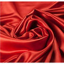 Red Plain Viscose Satin Fabric, For Clothing