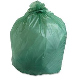 Green Compostable Garbage Bag