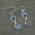 Labradorite Gemstone 925 Sterling Silver Jewelry Earring