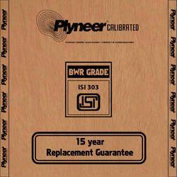 Plyneer Calibrated BWR Water Resistant Plywood