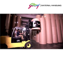 Godrej Paper Roll Clamp Rotating Forklift Attachment