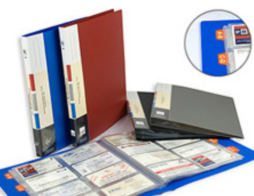 Business card holders box type business card holders distributor folder type with index business card holders reheart Image collections