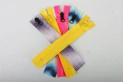No 5 PVC Nylon Zippers