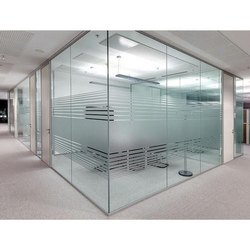 Multicolor Office Partition Frosting