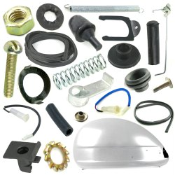 Vespa Cowls & Glove Compartment For PX LML Star Stella 125 150 200 2T 4T Scooter Spare Parts