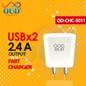 Oud White Od Chc 5011 Usb Into 2 Fast Charger