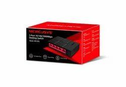 Black Lan  Capable Mercusys Ms105g 5-Port 10/100/1,000 Mbps Desktop Switch