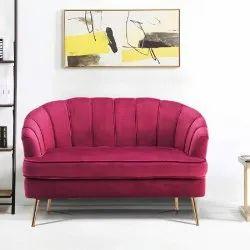 Sunny Overseas Pink Hotel Room Sofa