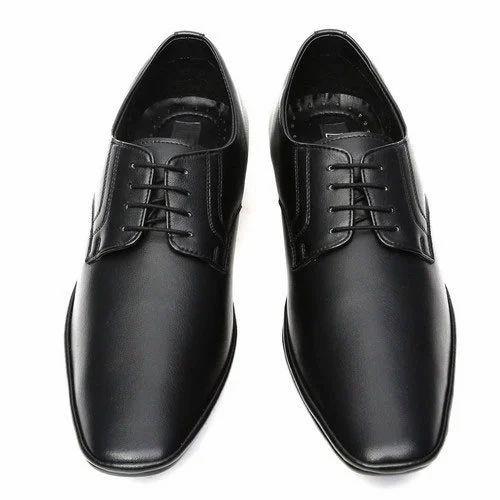 Black Men S Office Shoes Rs 450 Pair