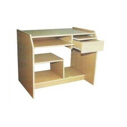 Computer Wooden Table With Drawer And Keyboard For Office Furniture Workstation