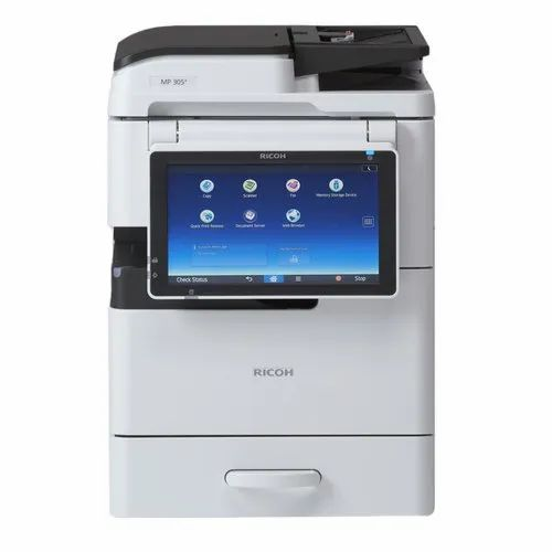 Ricoh MP 305+ SP Black & White Multifunction Printer, Upto