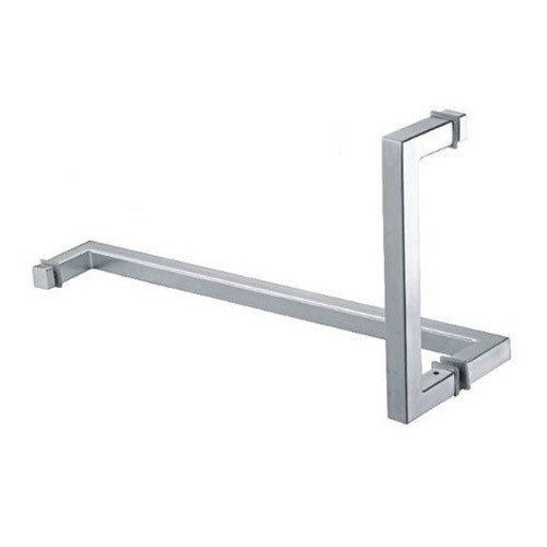 Stainless Steel Shower Square Glass Door Pull Handle Rs 550 Piece