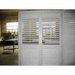 UPVC Louvered Door