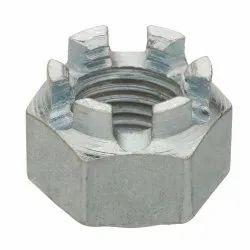 Mild Steel Hex Castle Nut