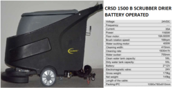 CRSD 1500B Scrubber Drier Battery Operated
